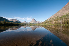 Morning on an Alpine Lake Royalty Free Stock Images