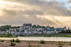 Morning in Amboise Stock Photos