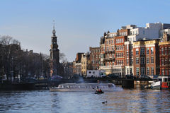 Morning in Amsterdam Stock Photo