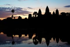 Morning in Angkor Stock Photos
