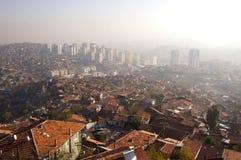 Morning in Ankara. The view of the turkish capital Ankara at the morning Stock Photos