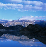 Morning around the Mountain Royalty Free Stock Image