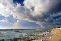 Morning at Atlantic ocean coast. FL, USA Stock Image