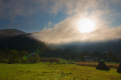 Morning autumn landscape Royalty Free Stock Photo