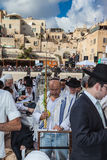 Morning autumn Sukkot in Jerusalem Stock Photos