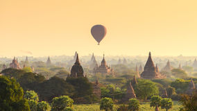 The morning in Bagan Royalty Free Stock Images