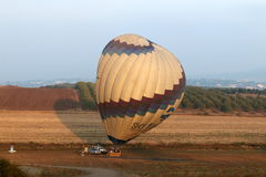 Morning balloon flight Stock Photography