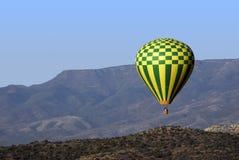 Morning Balloon Ride Stock Photo