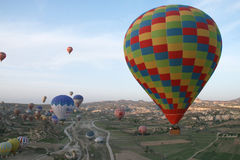 Morning balloons Royalty Free Stock Images