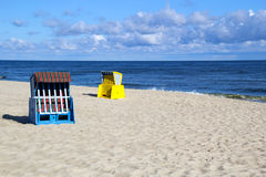A morning at the Baltic Sea Stock Photography