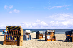 A morning at the Baltic Sea Royalty Free Stock Images