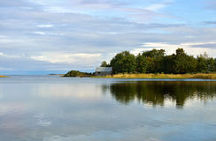 Morning on the Baltic Sea Stock Photography