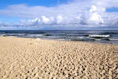 A morning at the Baltic Sea Royalty Free Stock Image