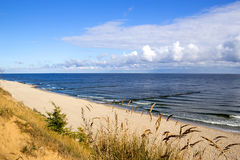 A morning at the Baltic Sea Stock Photo