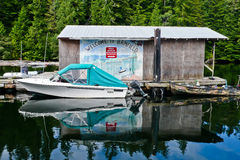 Morning at Bamfield Royalty Free Stock Photography