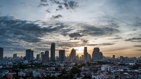 Morning Bangkok stock video