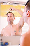 Morning in bathroom Royalty Free Stock Images