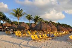 Morning Beach. Royalty Free Stock Photography