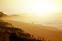 Morning on the beach Royalty Free Stock Photography