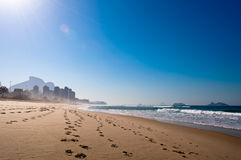 Morning in the Beach Stock Photography