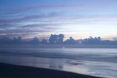 Morning at Beach in Florida Stock Photos