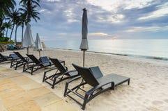 Morning beach Royalty Free Stock Photos