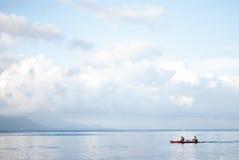 Morning at the beach of Lobo, Batangas Royalty Free Stock Photos