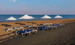 Morning beach. Royalty Free Stock Photo