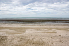Morning beach sea and sky. Picture Royalty Free Stock Photos