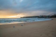 Morning beach Royalty Free Stock Photography
