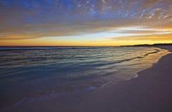 Morning beach wash 2 Royalty Free Stock Image