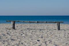 Morning beach waves stock image