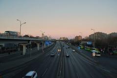 Morning of Beijing Royalty Free Stock Photo