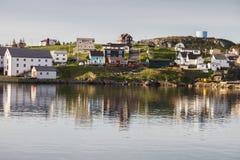 Morning in Bonavista, Newfoundland. St. John`s, Newfoundland and Labrador, Canada stock photography