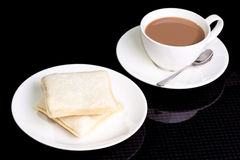Morning breakfast 2 bread. Picture of Morning breakfast 2 bread Royalty Free Stock Photography