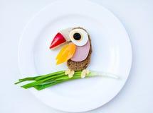 Morning breakfast for children Stock Images
