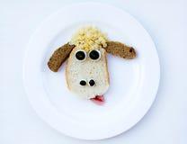 Morning breakfast for children Stock Image