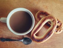 Morning breakfast. Delicious morning breakfast Royalty Free Stock Photo