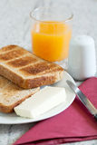 Morning breakfast Stock Photography