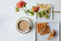 Morning Breakfast Stock Photos