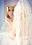 Morning bride Royalty Free Stock Photography