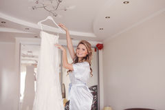 Morning bride Stock Photo