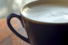 Morning cafe royalty free stock photo