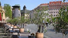 Morning cafe in Dresden