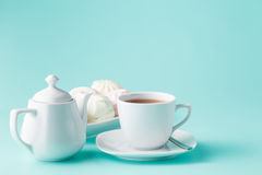 Morning caffee scene Royalty Free Stock Image