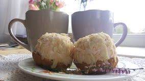 Morning cake Royalty Free Stock Images