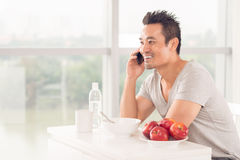 Morning call Royalty Free Stock Images