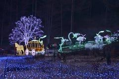 Free Morning Calm Garden Neon Light Royalty Free Stock Photo - 137701595