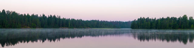Morning calm landscape Royalty Free Stock Image