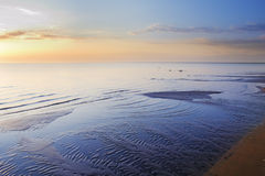 Morning calmness at the sea Stock Photography